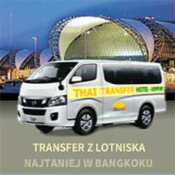 Transfer z lotniska w Bangkoku